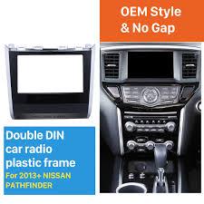 nissan pathfinder 2013 din car radio frame plastic fascia dash panel for for 2013 nissan