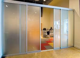 Sliding Door Room Divider Modern Glass Room Dividers For Interiors Sliding Door Company