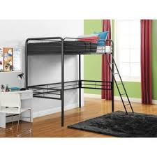 white twin loft bed with desk shelves free shipping today