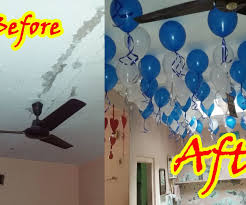 Wall Decoration With Balloons by Decorate Your Home With Balloons Floating In Air 4 Steps With