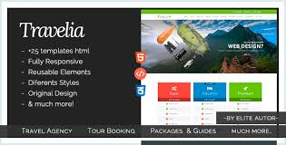 travelia travel package html5 template by iwthemes themeforest