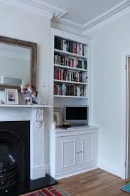 fireplace cabinets and bookcases best shower collection