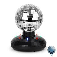 Rotating Disco Ball Light Buy Rotating Multi Coloured Led 4 Disco Mirror Ball Light From Our