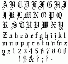 tattoo font creator free online fonts and hand lettering
