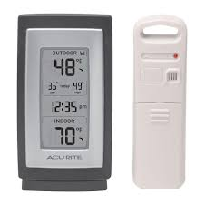 Garden And Outdoor Decor Thermometers U0026 Weather Stations Outdoor Decor The Home Depot