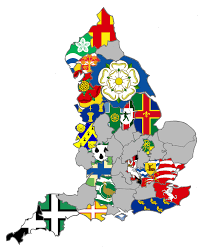 England County Map by County Durham Flag U2013 Competition Launch Andy Strangeway