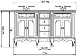 Standard Height Bathroom Vanity by Perfect Standard Height For Bathroom Vanity What Is The Of A