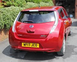 nissan leaf acenta review nissan leaf review by owner steve freeman online