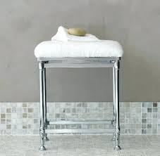 Vanity Stools For Bathrooms Stool For Bathroom Vanity 20s Bathroom Vanity Stool Chrome Centom