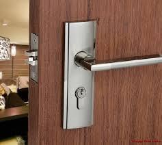 Exterior Door Locksets Door Locks Front Interior Minimalist Stainless Steel Single