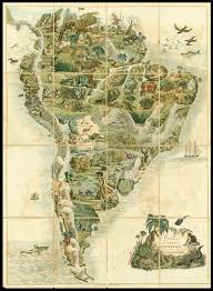 South America Map Game by Rare Game Map Of South America Maps Daniel Crouch Rare Books