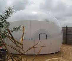 chambre d hote insolite bretagne nuit insolite dans une bulle à kerlouan