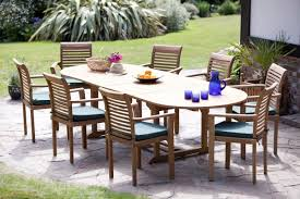 8 Seat Patio Dining Set - the ripon teak garden furniture set hunters of yorkshire