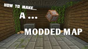 Mpce Maps Mcpe How To Make Cool Modded Maps Part 1 Intro Youtube