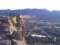South Table Mountain Mountain Bike Trail In Golden Colorado