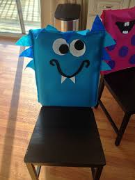 Paper Chair Covers Monster Chair Covers Monster Party Pinterest Chair Covers