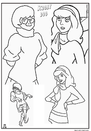 scooby doo free coloring pages 09