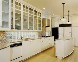 art deco art deco kitchen love the glass block backsplash light