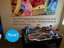 Imaginarium Mountain Rock Train Table Best Rates Disney Decor Kids Large Homeaway Kissimmee