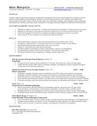 Program Manager Resumes Financial Services Representative Resume Financial Services