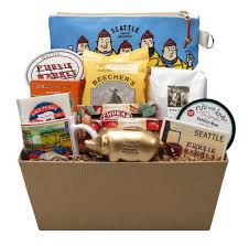 seattle gift baskets best of pike place ultimate gift basket