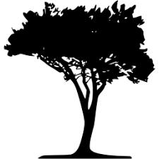 black tree 51 icon free black tree icons