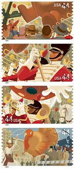 marching u s postage st features marching band in