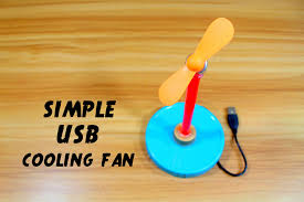how to make a fan how to make usb cooling fan