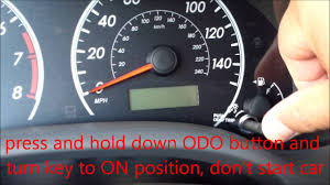 how to reset maintenance light toyota corolla