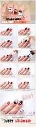 easy halloween nail art tutorials 2017 step by step fashioneven