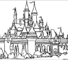 kid castle coloring sheet 21 download castle