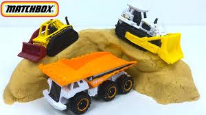 mattel matchbox construction zone 5 pack bulldozer dump truck