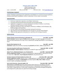 Oracle Sql Resume Accounts Payable Resume Samples Cbshow Co