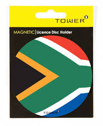 What Colour Is The South African Flag Tower Magnetic License Disc Holder Sa Flag Buy Online In South