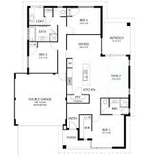 single house plans without garage simple 3 bedroom house plans without garage 3 bedroom floor plans