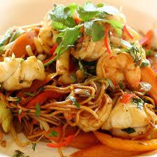 recette cuisine wok wok de poissons variés aux légumes sauce aigre doux cuisine az