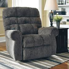 Ashley Recliners Signature Design By Ashley Ernestine Power Lift Recliner In Slate