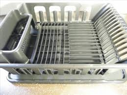 Dish Rack And Drainboard Set How To Slope Your Dish Rack Pan For Perfect Draining