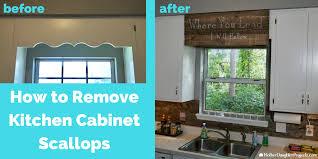 cabinet trim kitchen sink cover scalloped wood valance kitchen sink