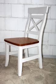 Esszimmergarnitur Fichte Landhaus Tisch Mit Stühle Weiß Honig Kiefer Massiv 2 Farbig Fjord