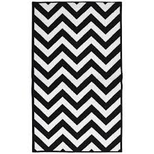 Black And White Area Rugs For Sale Garland Rug Large Quatrefoil Black White 8 Ft X 10 Ft Area Rug