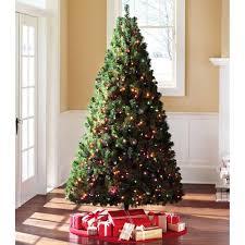 holiday time 7 u0027 douglas fir artificial christmas tree with multi