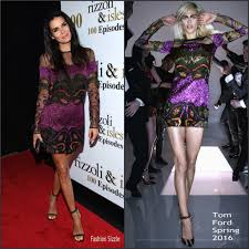 Fashion Sizzlers Archives Fashionsizzle by Angie Harmon In Tom Ford At The U0027rizzoli And Isles U0027 100th
