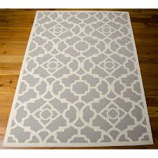 Modern Area Rug by Grey White Area Rug Roselawnlutheran