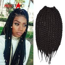 crochet braid ponytail hanvna box jumbo crochet braids hair expression braiding hair