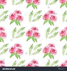 modern floral wallpaper decorative seamless pattern flowers beautiful floral stock