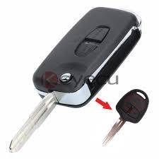 lexus gx470 key fob battery 10pcs lot replacement shell remote key case fob 2 button uncut