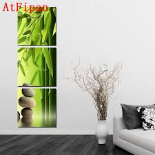 Feng Shui Colors For Living Room by Aliexpress Com Buy Atfipan Bamboo Painting On Wall Feng Shui