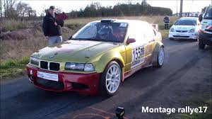 bmw rally bmw 318 compact rally best of glisse sound fail youtube