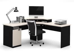 best gaming desk for 3 monitors bestar hton corner workstation best gaming desks things to